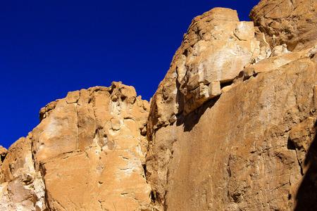 sinai: White canyon around Dahab, Sinai, Egypt