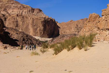 dahab: White canyon around Dahab, Sinai, Egypt