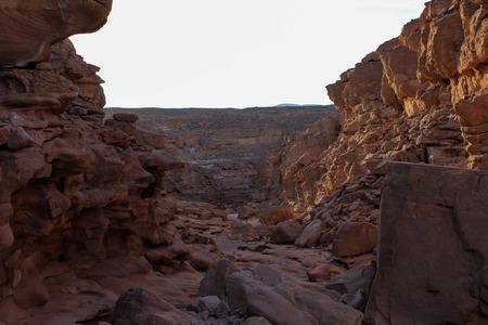dahab: Red canyon around Dahab, Sinai, Egypt