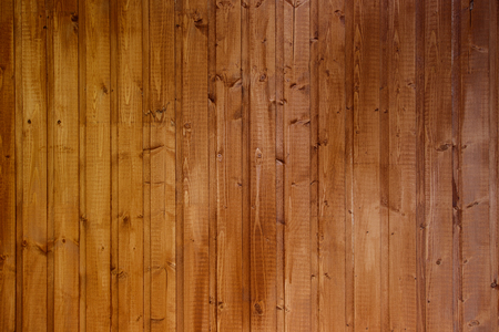 Wooden wall from boards as a background texture. 版權商用圖片