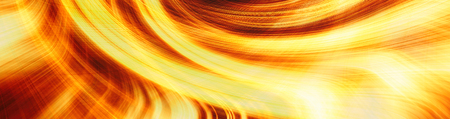 Orange and yellow abstract background for design with radial blur. Stock Photo