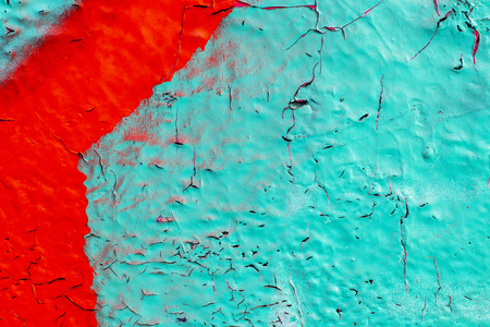 Fragment of colored graffiti painted on a concrete wall. Texture. Abstract background for design. Stockfoto