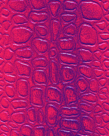 Red synthetic leather texture. Abstract background for design. Art stylized banner. Imagens