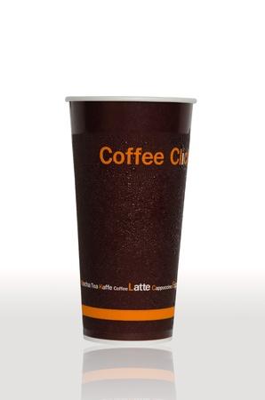 caf� � emporter: Caf� glac�