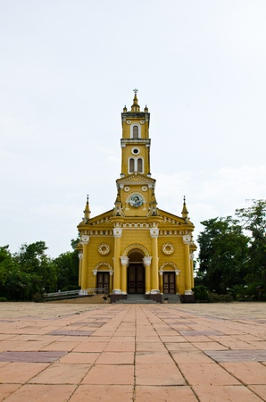Christian churches, Ayutthaya, Thailand. Stock Photo - 9372339