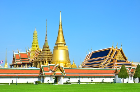 Wat Phra Kaew, Bangkok , Thailand. photo