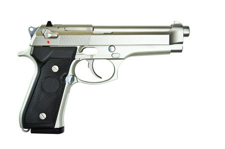 Weapons automatic pistol. Stock Photo - 9544901