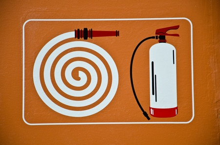 A device for preventing and suppressing fires. Stock Photo - 10108460