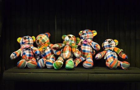 teddy bear made scottish Stock Photo - 10213943