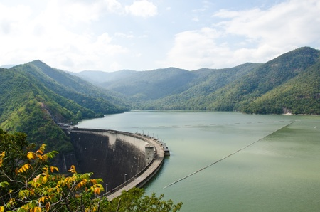 hydroelectric power station: Dam of hydroelectric power station and irrigation.