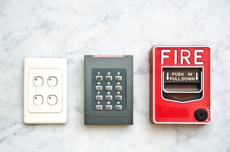 fire alarm: Security system
