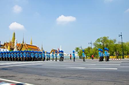 BANGKOK - APRIL 9: Royal cremation of Her Royal Highness Princess Bejaratana Rajasuda at Sanam Luang on April 9, 2012 in Bangkok, Thailand. Stock Photo - 13097040