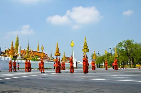 BANGKOK - APRIL 9: Royal cremation of Her Royal Highness Princess Bejaratana Rajasuda at Sanam Luang on April 9, 2012 in Bangkok, Thailand. Stock Photo - 13097048