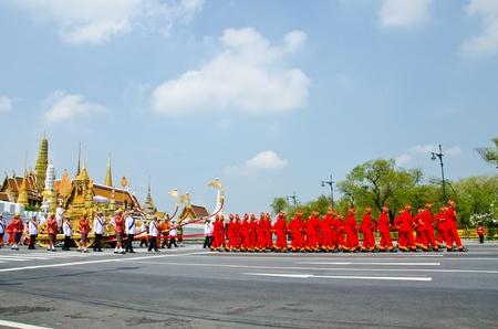 BANGKOK - APRIL 9: Royal cremation of Her Royal Highness Princess Bejaratana Rajasuda at Sanam Luang on April 9, 2012 in Bangkok, Thailand. Stock Photo - 13097046