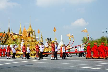 BANGKOK - APRIL 9: Royal cremation of Her Royal Highness Princess Bejaratana Rajasuda at Sanam Luang on April 9, 2012 in Bangkok, Thailand. Stock Photo - 13097044