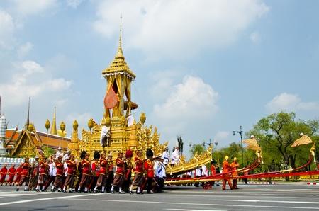 BANGKOK - APRIL 9: Royal cremation of Her Royal Highness Princess Bejaratana Rajasuda at Sanam Luang on April 9, 2012 in Bangkok, Thailand. Stock Photo - 13097043