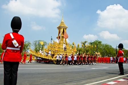 BANGKOK - APRIL 9: Royal cremation of Her Royal Highness Princess Bejaratana Rajasuda at Sanam Luang on April 9, 2012 in Bangkok, Thailand. Stock Photo - 13097045
