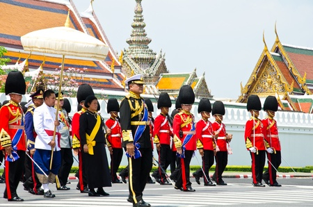 BANGKOK - APRIL 9: Princess of Thailand attended the Royal cremation of Her Royal Highness Princess Bejaratana Rajasuda at Sanam Luang on April 9, 2012 in Bangkok, Thailand. Stock Photo - 13097035