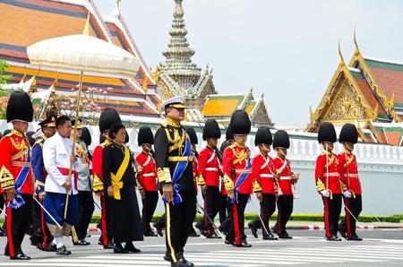 BANGKOK - APRIL 9: Princess of Thailand attended the Royal cremation of Her Royal Highness Princess Bejaratana Rajasuda at Sanam Luang on April 9, 2012 in Bangkok, Thailand. Stock Photo - 13097035