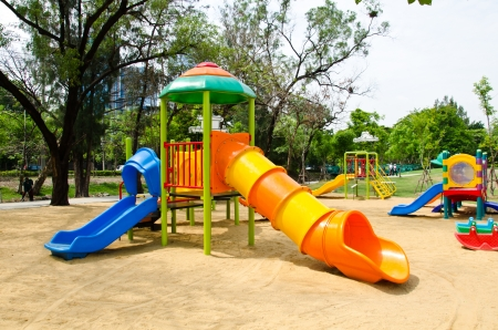 Colorful playground in a city Stock Photo - 13639445