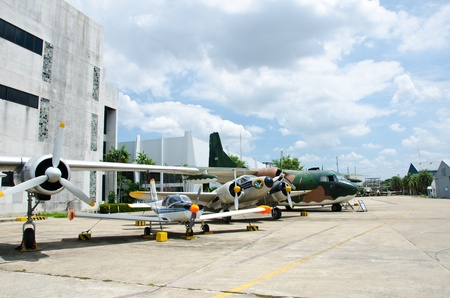 The Royal Thai Air Force Museum was set up in 1952 with the purpose of collecting and restoring defense articles of different periods, including equipments and aircraft in use during the early period of Thai aviation history up to the present.