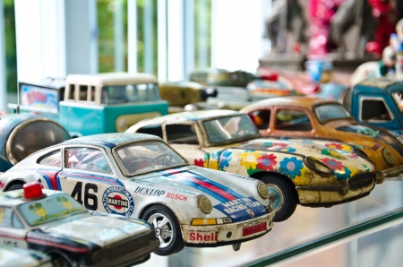 AYUTTHAYA - JULY 25: Toy Museum is a collection of toy world-class. Toys on display are more than 100 years (since 1880) on July 25, 2012 in Milliontoymuseum Ayutthaya, Thailand. 報道画像