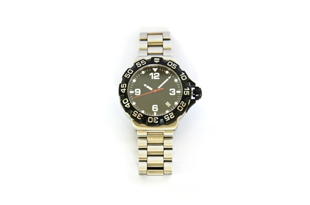 Wrist watches for men on a white background  photo