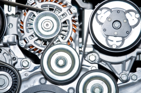 The car engine  Concept of modern car engine  写真素材