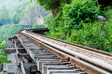 The Death Railway  Thailand-Burma railway  on World War II  photo