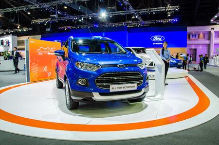 nonthaburi: NONTHABURI - NOVEMBER 28:  Ford Ecosport car on display at Thailand International Motor Expo 2014 on November 28, 2014 in Nonthaburi, Thailand.