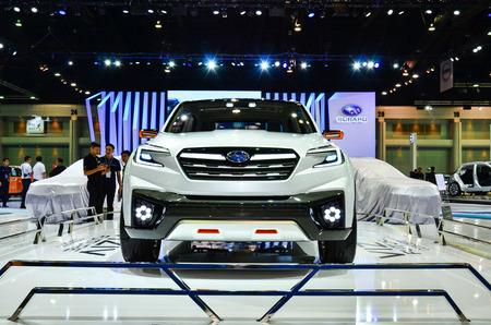 subaru: NONTHABURI - MARCH 22: Subaru VIZIV Future Concept car on display at The 37th Bangkok International Thailand Motor Show 2016 on March 22, 2016 Nonthaburi, Thailand.