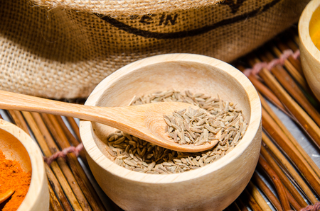 carminative: Cumin seed (Cuminum cyminum) herb for ingredient of food. Volatile oil, caraway (cumin oil) is used in incense, perfumes, drinks and carminative.