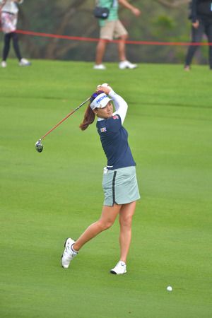 So Yeon Ryu of Republic of Korea in Honda LPGA Thailand 2018 at Siam Country Club, Old Course on February 24, 2018 in Pattaya Chonburi, Thailand.