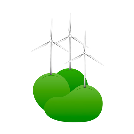 Wind turbine logo