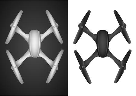 whitewash: Drone quadrocopter wireless fly