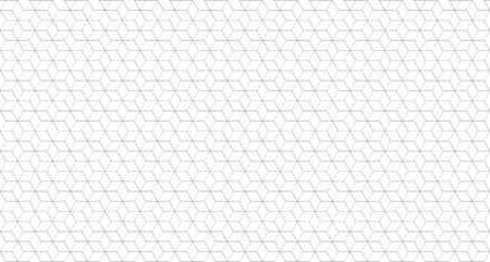 Art deco monochrome geometric tile. Minimal graphic vector pattern. Vector illustration