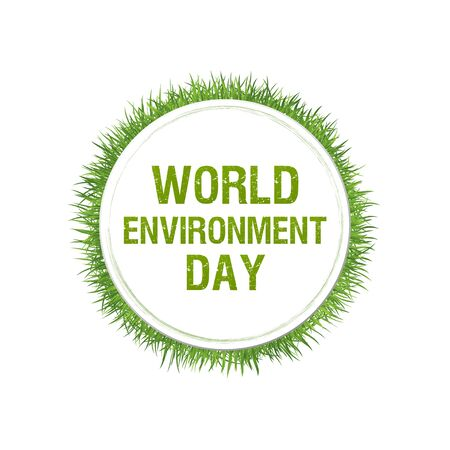 World Environment Day concept. Vector illustration Vettoriali