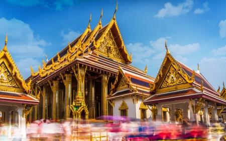 Das Thai Grand Palace Prakaew Tempel Der berühmteste Tempel der Welt Tourismus in der ganzen Welt an diesen Ort kommen