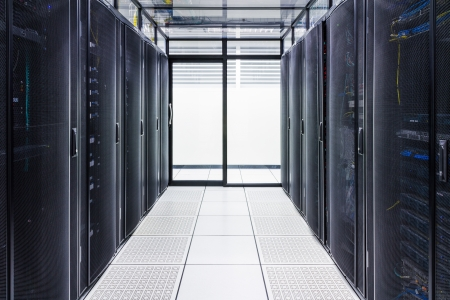 Data Center and Server Room  Stock Photo - 18192240