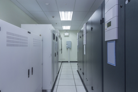 Power Supply von Data Center, Server-Raum