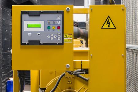 Electric control system. Standard-Bild