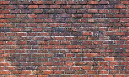 Vieux mur de briques. Contexte abstrait avec un vieux mur de briques.