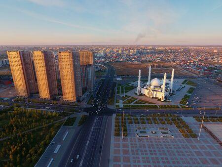 Astana cityscape. Astana is the capital of Kazakhstan. Stock fotó