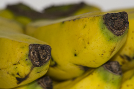 more mature: Banana yellow spotted