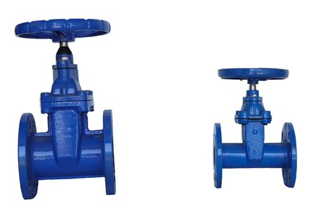 Stop valves or gate valve for cold and hot industrial water