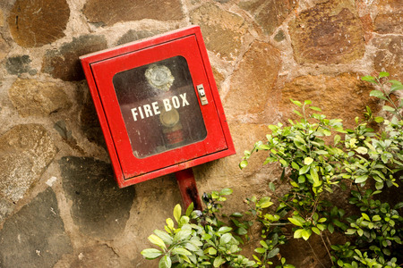 danger box: Fire box