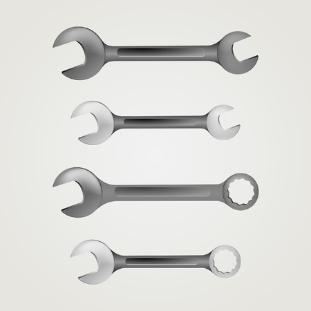Illustration of wrench