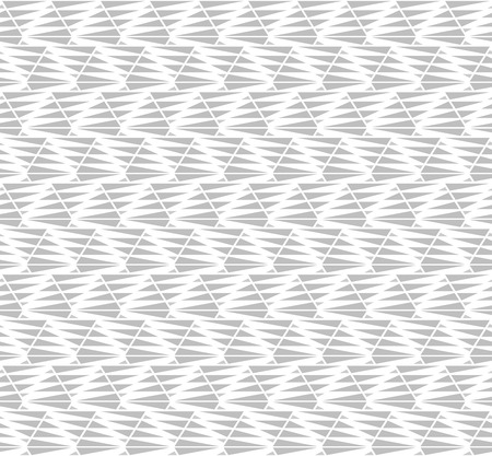 rhomb: Seamless vector abstract pattern with gray triangles for wallpaper or some wrapping or decor
