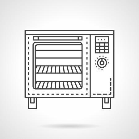 bakery oven: Modern oven for bakery.