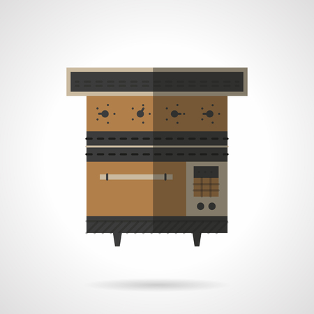 Brown Stove Or Oven For Bakery Kitchen Equipment Restaurant Mesmerizing Bakery Kitchen Design Style